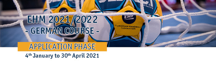 EHM Application Phase 2021