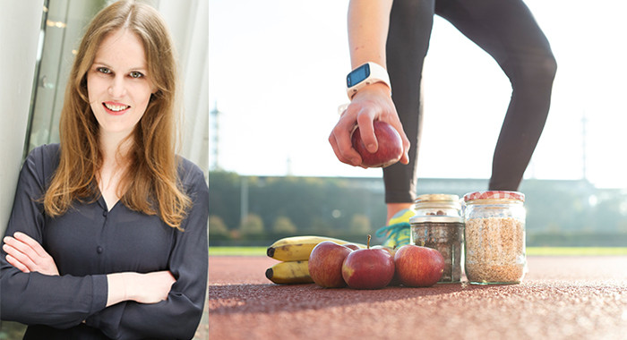 Helen Bauhaus (links) ist neue Dozentin im DSHS Coach für Sporternährung.