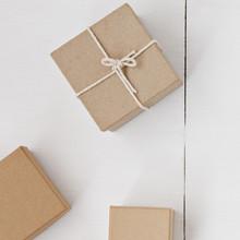 Kleine quadratische Geschenkboxen