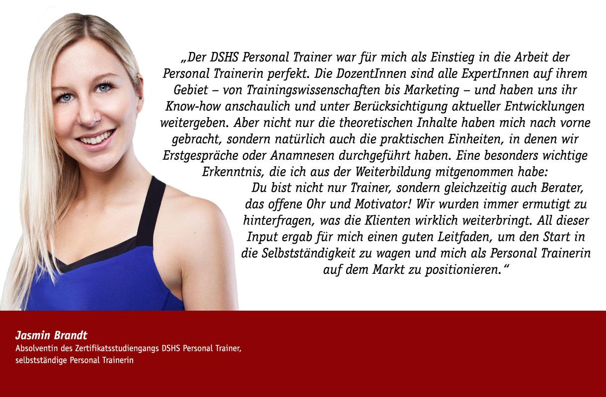 Stimme Jasmin Brandt