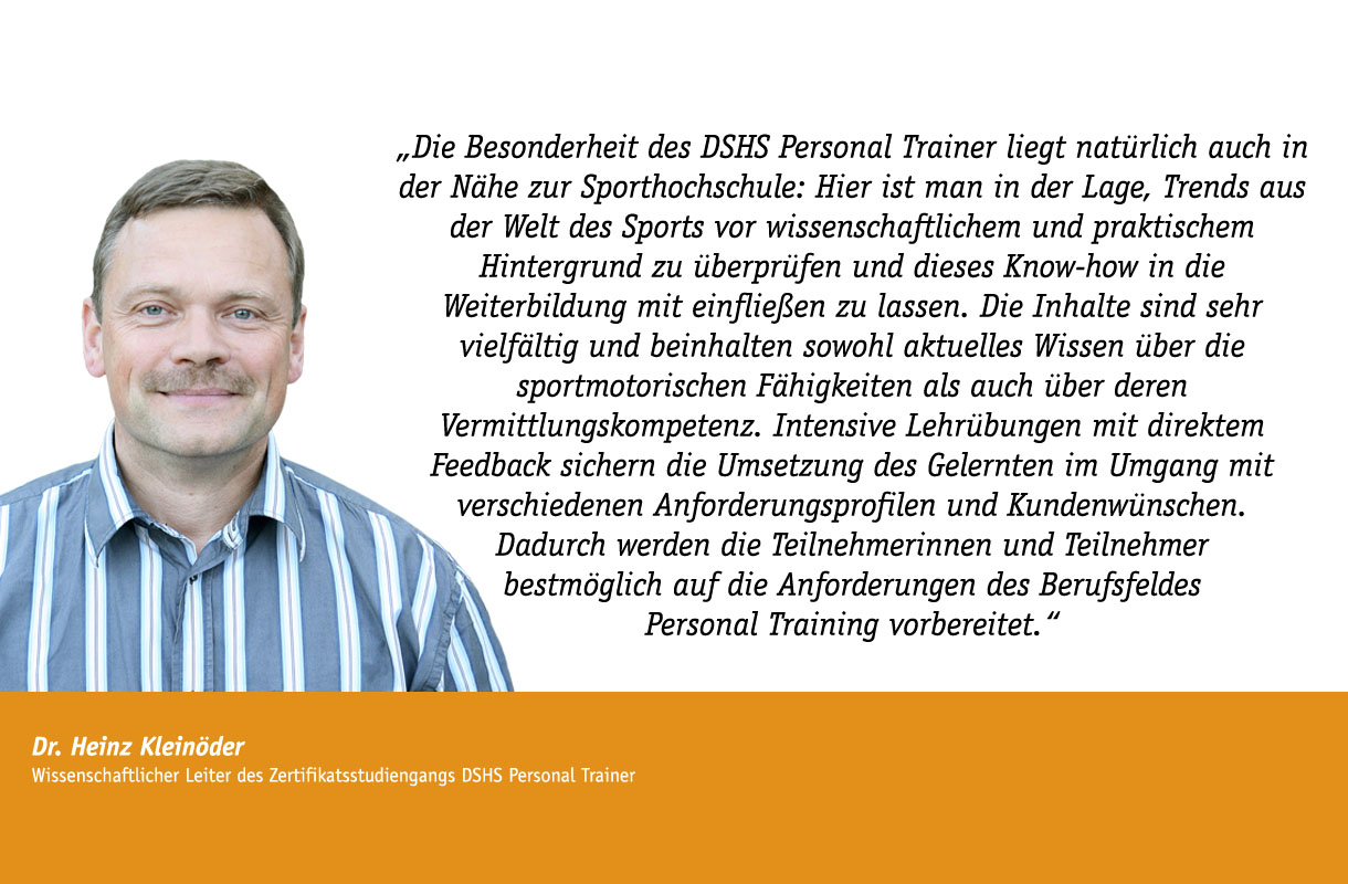 Stimme Dr. Heinz Kleinöder