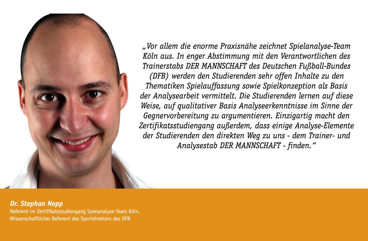 Stimme Dr. Stephan Nopp