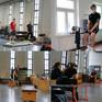 Die neuen Master-Sportphysiotherapie-Studierenden vor Ort