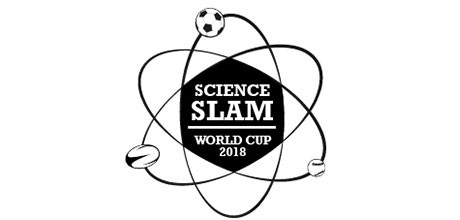 Logo of the Science Slam World Cup